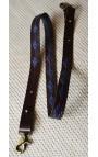 ANSE de sac - AZULES _Cuir Marron Clair  2,5 cm