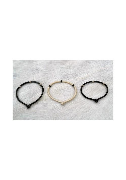 Bracelet Gaucho Cuero Trenzado