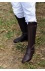 Bottes Polo Cuir souple MARRON