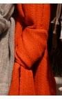 PASHMINA Baby Alpaga LUCAS  Gris moyen