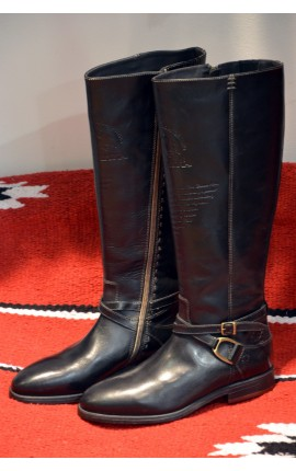 Bottes La Martina BLACK SPURS