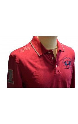 Polo La Martina ML BURGUNDY