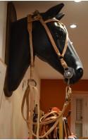 Briderie cuir & métal