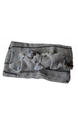 ECHARPE Baby Alpaga MUNACUICU Grise