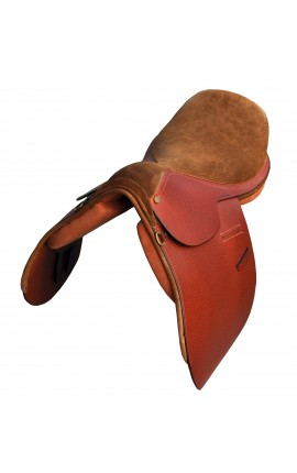 Selle Polo Combinada BROWN